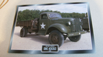 GMC ACK353 1940 US Army Truck framed picture